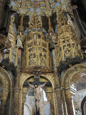 Convento de la Orden de Cristo: Interior da igreja