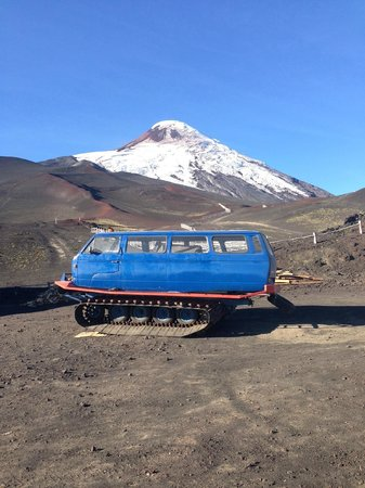 Volcan Osorno: View from the Volcano
