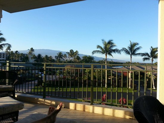 Kolea at Waikoloa Beach Resort: View from the Lanai