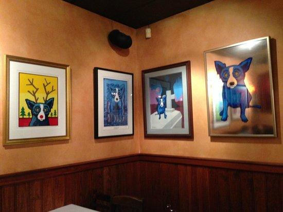 Blue Dog Cafe: Blue Dog