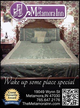 The Metamora Inn B&B : The Anniversary Room