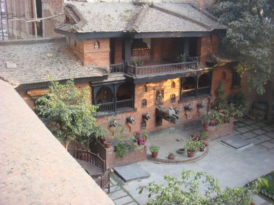 Kantipur Temple House: View from our room
