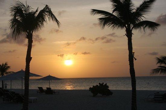 Bucuti & Tara Beach Resort Aruba: Sunset on the beach