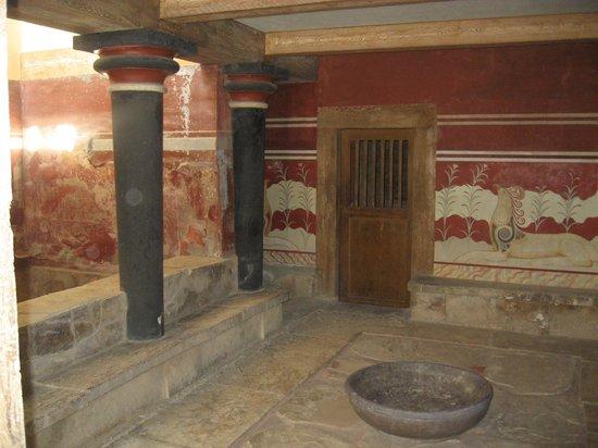 Le Palais de Cnossos : 6