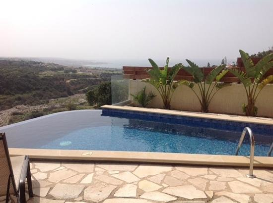Lithos Holiday Villas: the perfect view from the terrace