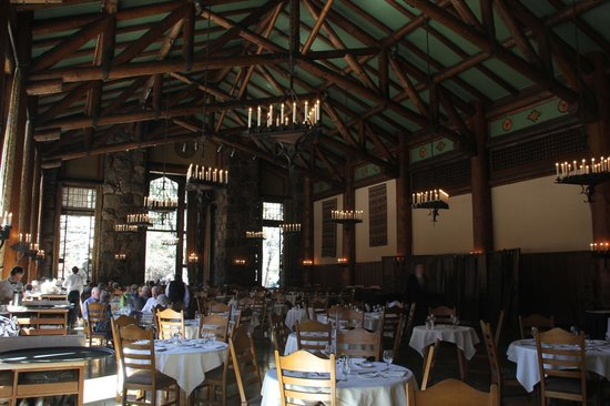 Inside The Ahwahnee Dining Room Picture Of The Majestic Yosemite Amazing Ahwahnee Dining Room