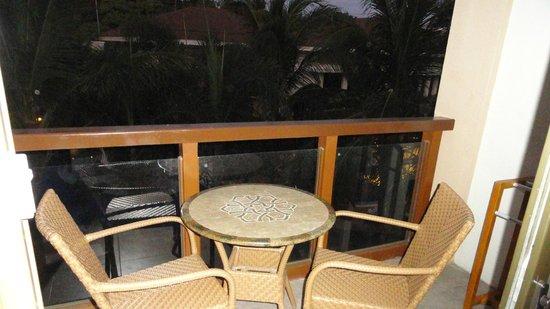 Henann Lagoon Resort: Balcony
