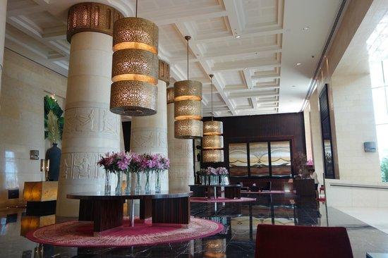 Raffles Dubai: Entrance foyer
