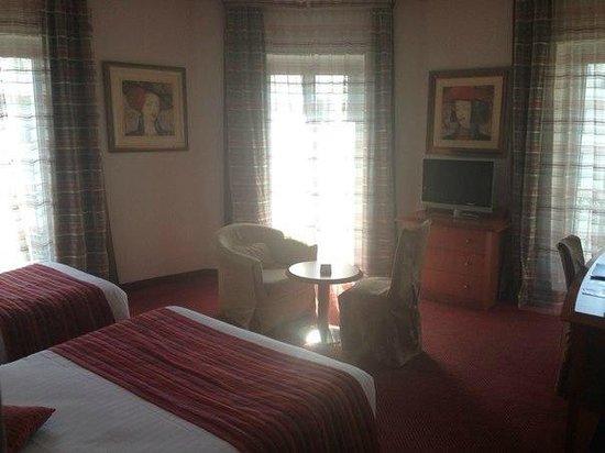 Best Western Hotel Roosevelt : мой шикарный номер