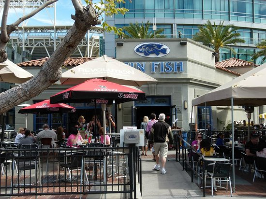 Outside the tin fish picture of the tin fish san diego for Tin fish menu