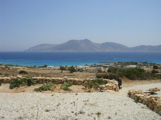 Pambelos Lodge: θέα