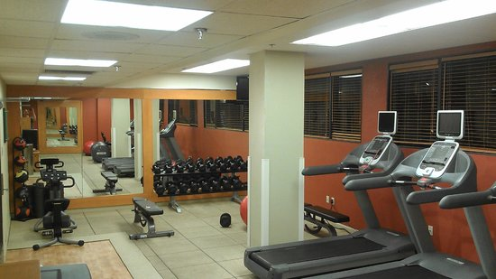 DoubleTree by Hilton Houston Hobby Airport: Workout Room 1