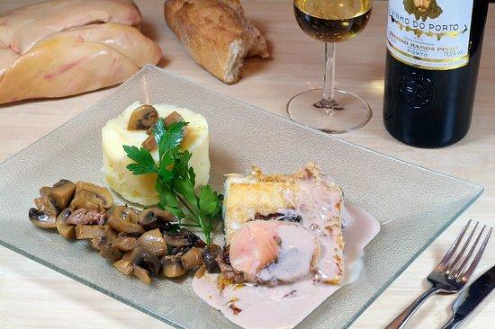 Le Salgado : Notre morue au foie gras