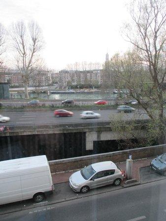 Appart'City Paris Saint-Maurice : zicht vanuit het raam