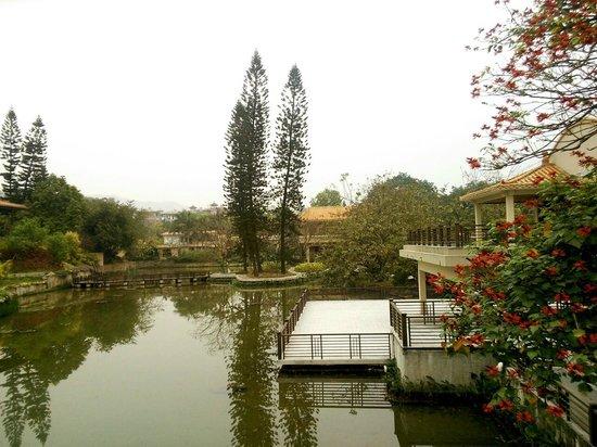 Zhongshan Hot Spring Hotel : 朝食会場からの眺め