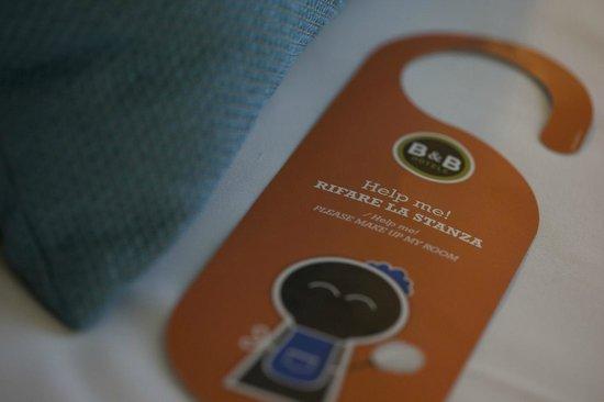 B&B Hotel Ferrara: Dettaglio del letto