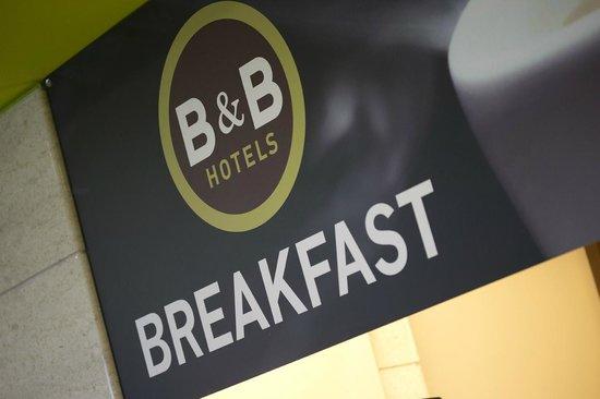 B&B Hotel Ferrara: Dettaglio colazione