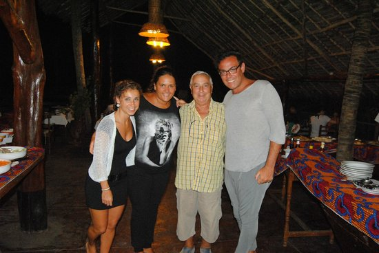 Palumboreef Beach Resort: il presidente...... signor Palumbo