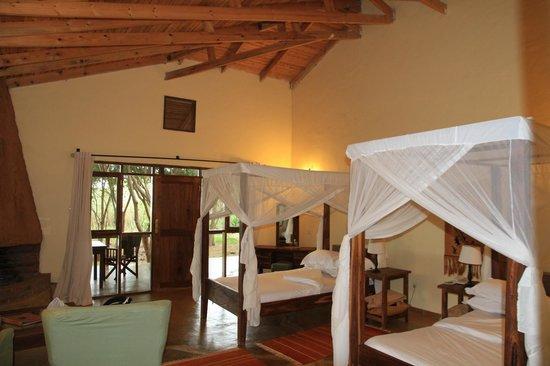 Ngorongoro Farm House, Tanganyika Wilderness Camps: Zimmer