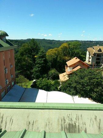 Hotel Laghetto Siena: Vista do apartamento para o Vale