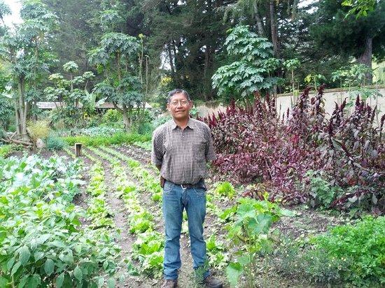 Hacienda Cusin: Head Gardener