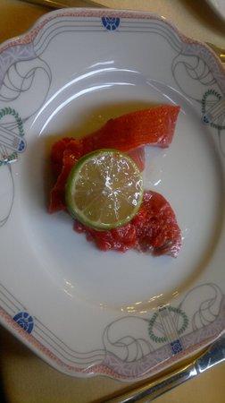 Sarah Bernhardt Restaurant : le saumon sauvage fumé au petit déjeuner: un délice