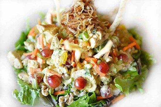 Pita Jungle: Chicken Curry Salad
