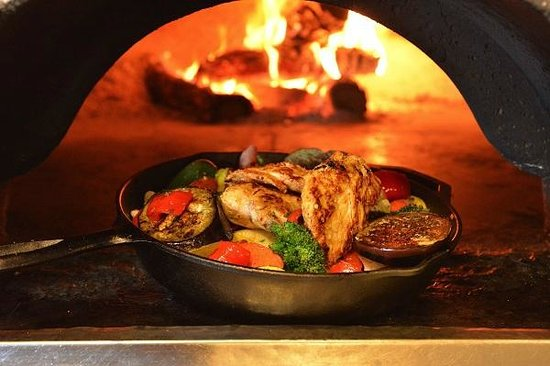 Pita Jungle: Wood Fired Chicken and Vegetables