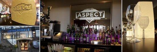 Aspect Bar & Bistro: nice place