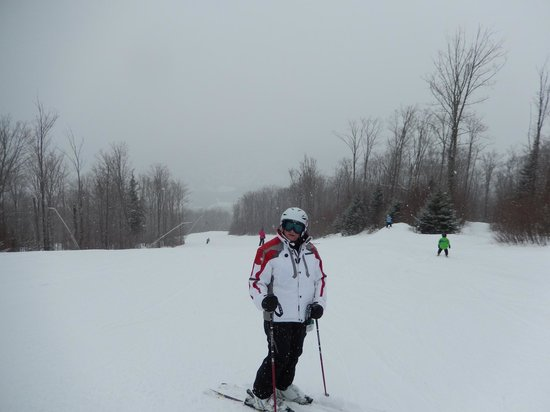 Bretton Woods: My SO on one of the trails