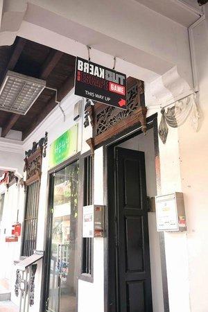 BreakOut Games: Entrance