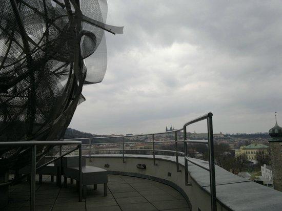 Celeste Restaurant : vue de la terrasse