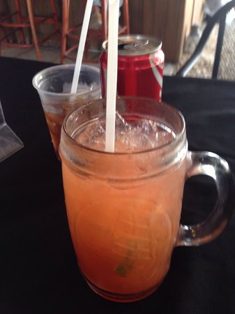 Shipwreck Bar & Grill: Rum runner! Smooth rummy taste! Really refreshing!