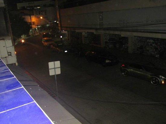 San Andres Noblehouse Hotel: Vista da varanda.