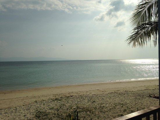Rung Arun Resort : View from room R14A