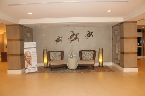 Fort Lauderdale Marriott Pompano Beach Resort & Spa : more of the lobby