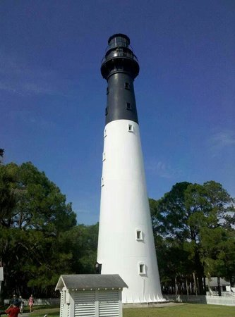 Hunting Island State Park Campground: Loved the lighthouse