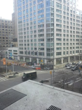 Hotel Belleclaire: view of W. 77th & Broadway out of room #300