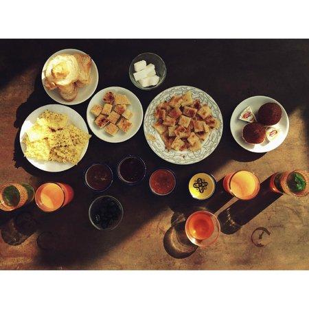 Dar Sienna: Delicious Breakfast.