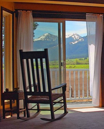 Barking Mad Farm & Country B&B: View from Treetops Suite
