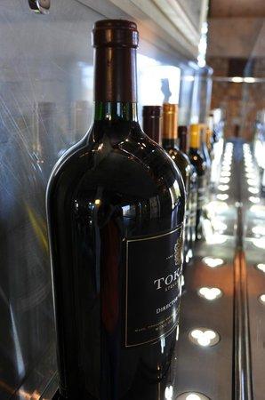 Tokara Restaurant: Weinausstellung