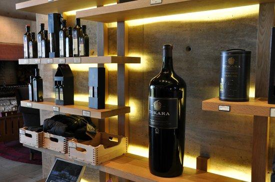 Tokara Restaurant: Ausstellung