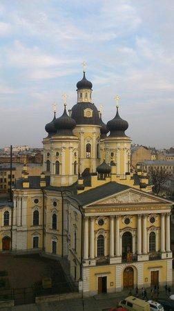 Dostoyevskiy Hotel: Вид из бара на 7 этаже