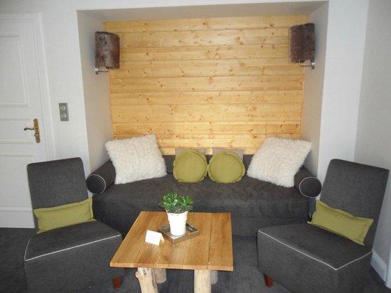 Hostellerie La Cheneaudiere - Relais & Chateaux: le salon
