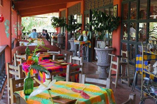Vallarta Botanical Gardens: restaurant