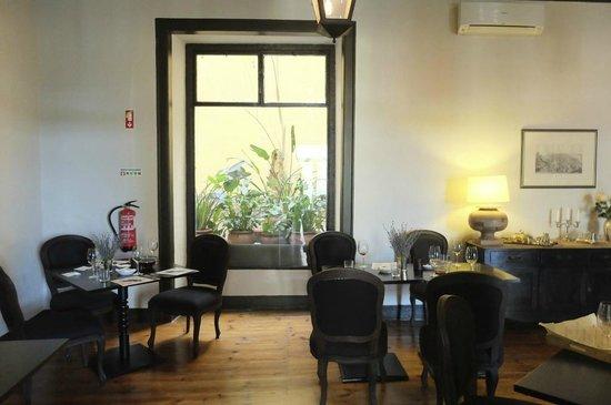 Palacio Ramalhete: salle petit déjeuner