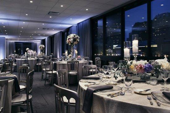 Thompson Chicago, a Thompson Hotel : Ballroom - Wedding Set Up