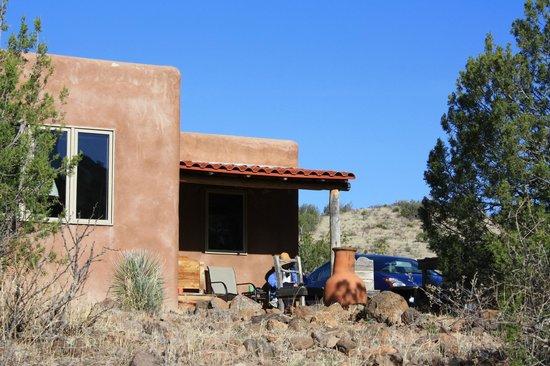 Casitas de Gila Guesthouses: Casita exterior