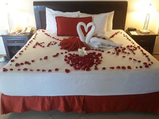 Crown Paradise Club Cancun: Honeymoon arrival