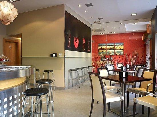 Hotel Palacio Valdes: Cafetería